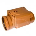 Brown ABS ral 8023 rubber ring Non return valve