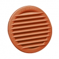 Coppery PP built-in round air grilles