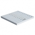 Grey PP grate for frame heavy series