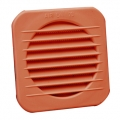 Coppery PP built-in square grilles